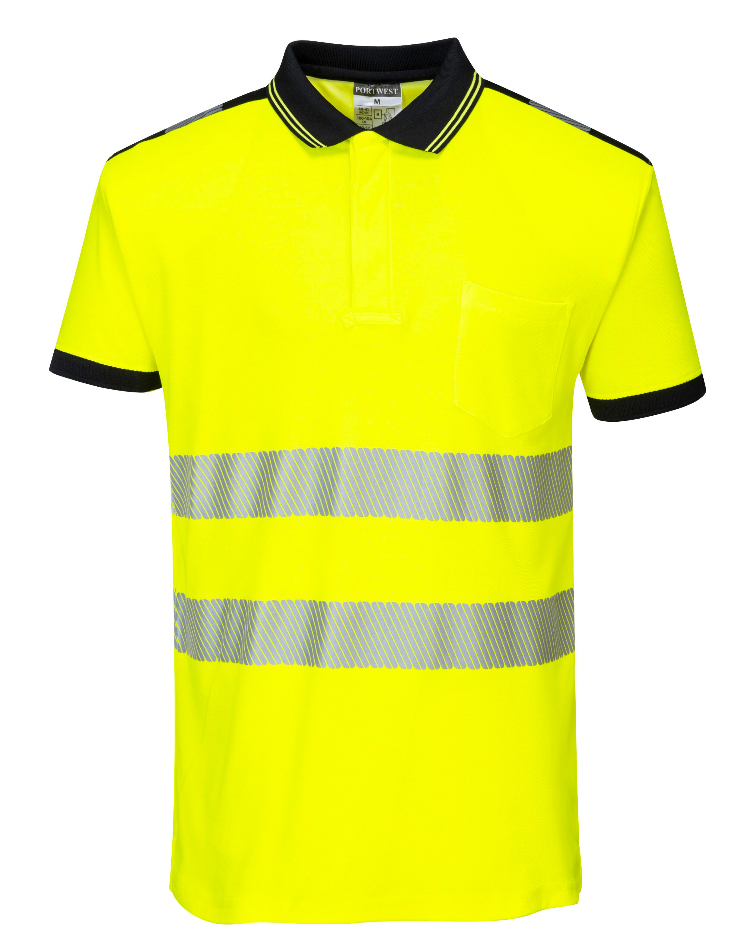 Poloshirt Segment EN 20471